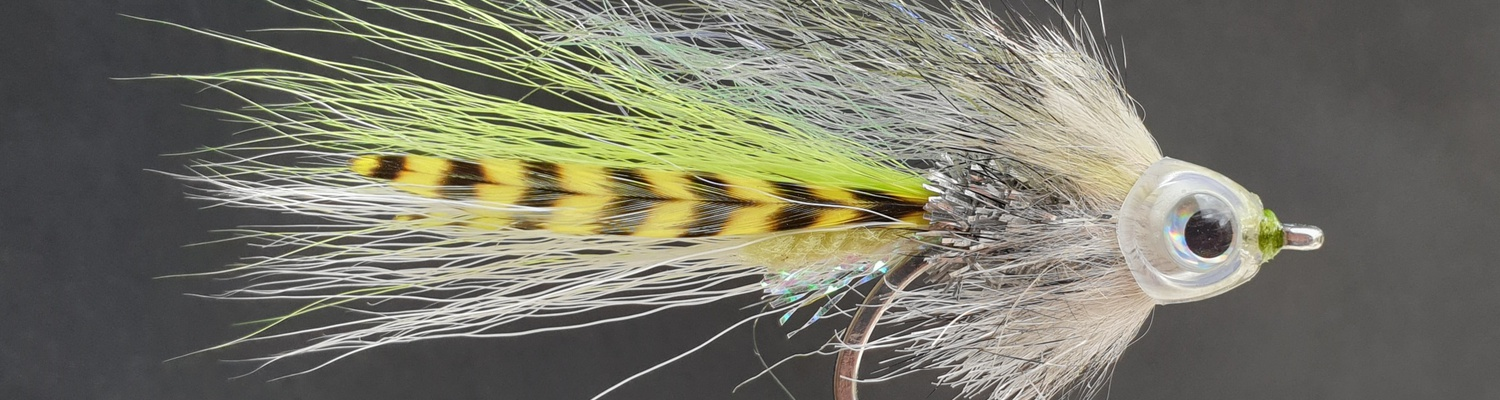 Pyramid Minnow, developed after a trip to Pyramid Lake, Nevada by Alan Hobson, Wild Fly Fishing in the Karoo