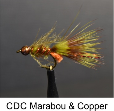 CDC Marabou & Copper, Marabou & Copper, Speciality Flies, Fly Fishing, Alan Hobson