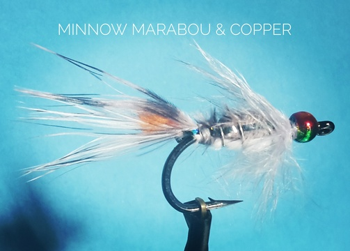 Minnow Marabou & Copper by Alan Hobson, Wild Fly Fishing in the Karoo