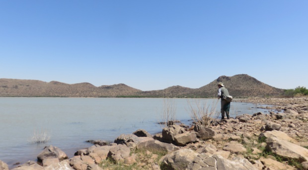 Vanderkloof Dam with Wild Fly Fishing in the Karoo
