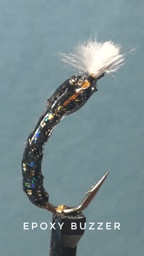 Epoxy Buzzer by Alan Hobson, Wild Fly Fishing in the Karoo
