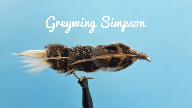 Greywing Simpson by Alan Hobson, Wild Fly Fishing in the Karoo
