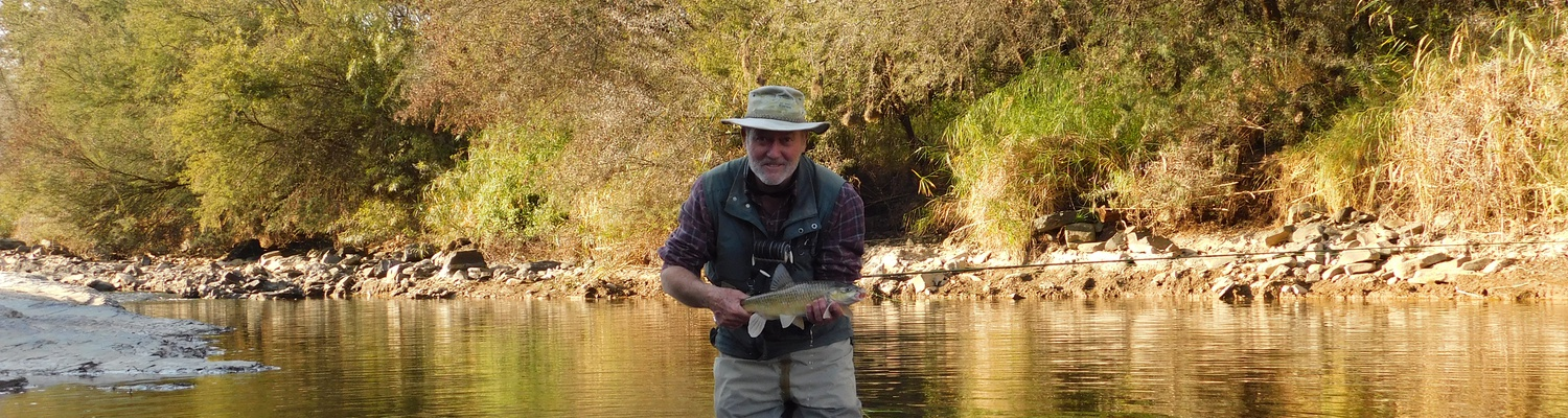 Fly Fishing for yellowfish, Wild Fly Fishing in the Karoo