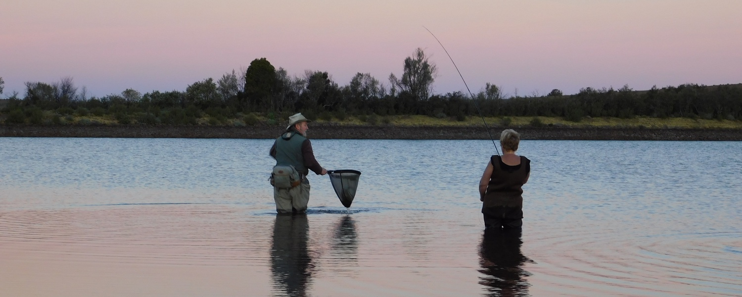 Mountain Dam Magic, Fly Fishing for Trout in Somerset East, Wild Fly Fishing in the Karoo