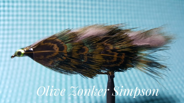 Olive Zonker Simpson by Alan Hobson, Wild Fly Fishing in the Karoo