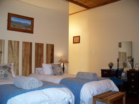 Mountain room, Angler & Antelope, Somerset East, South Africa
