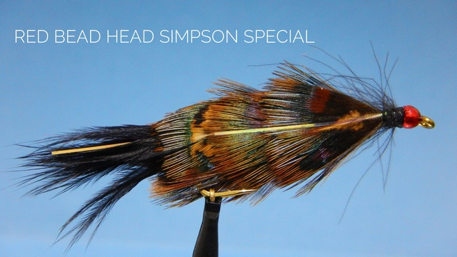 Red Bead Head Simpson Special by Alan Hobson, Wild Fly Fishing in the Karoo