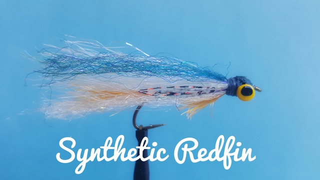 Synthetic Redfin by Alan Hobson, Wild Fly Fishing in the Karoo