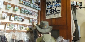 Angler and Antelope Fly fishing shop, Somerset East, Eastern Cape South Africa