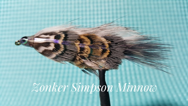 Zonker Simpson Monnow by Alan Hobson, Wild Fly Fishing in the Karoo