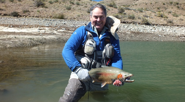 Trophy trout fishing with Alan Hobson, Wild Fly Fishing in the Karoo, South Africa