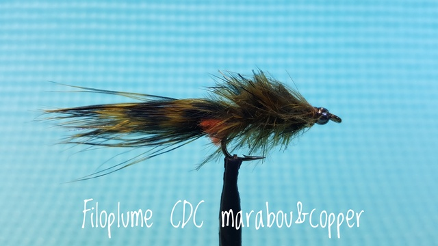 Filoplume CDC Marabou & Copper by Alan Hobson, Wild Fly Fishing in the Karoo